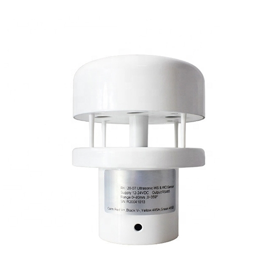 Ultrasonic Anemometer for Wind Speed & Direction, 40 m/s