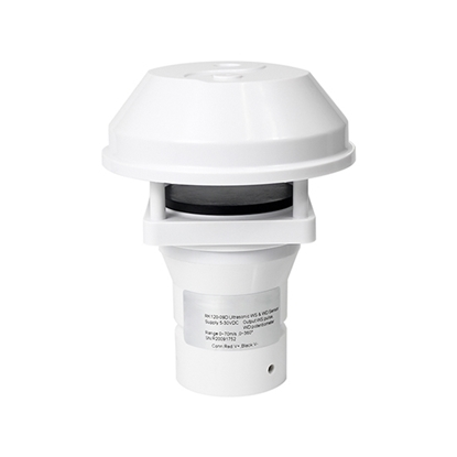 Ultrasonic Anemometer for Wind Speed & Direction, 70 m/s