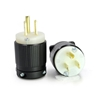 Picture of 15A 125V Locking Plug, 2 Pole, 3 Wire