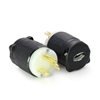 Picture of 20A 125V Locking Plug, 2 Pole 3 Wire
