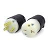 Picture of 20A 250V Locking Plug, 2 Pole 3 Wire