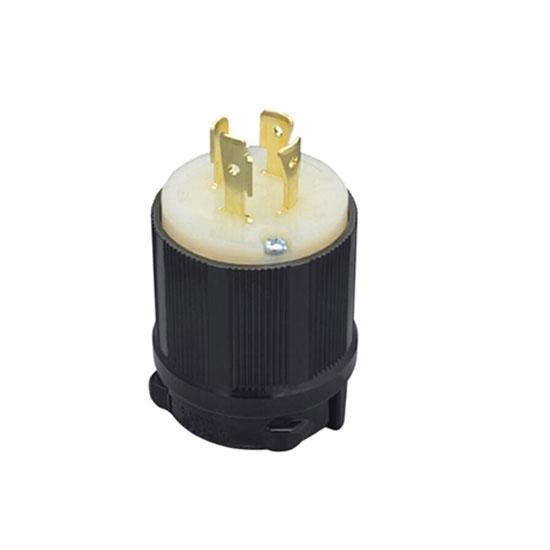 20A 480V Locking Plug, 3 Pole 4 Wire
