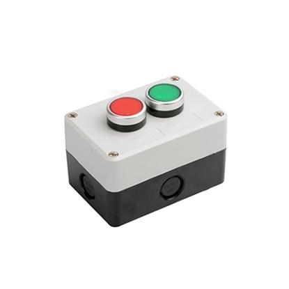 Plastic Push Button Switch, 1 NC+1 NO, 10 A