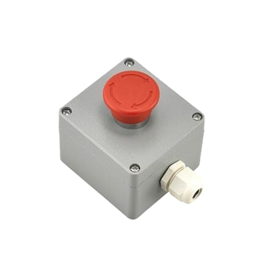 Emergency push button switch, metal type