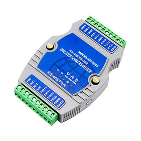 RS-232/ RS-485 to RS-485 Hub,  2 Ports