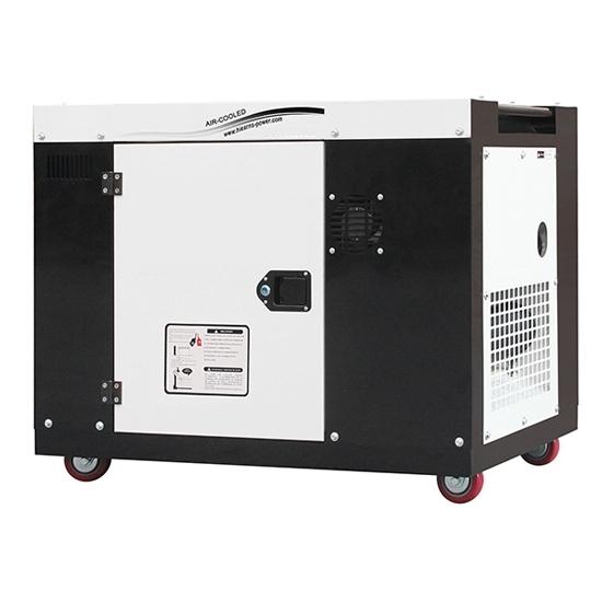 8kW (10kVA) Portable Diesel Generator, 1 Phase/3 Phase