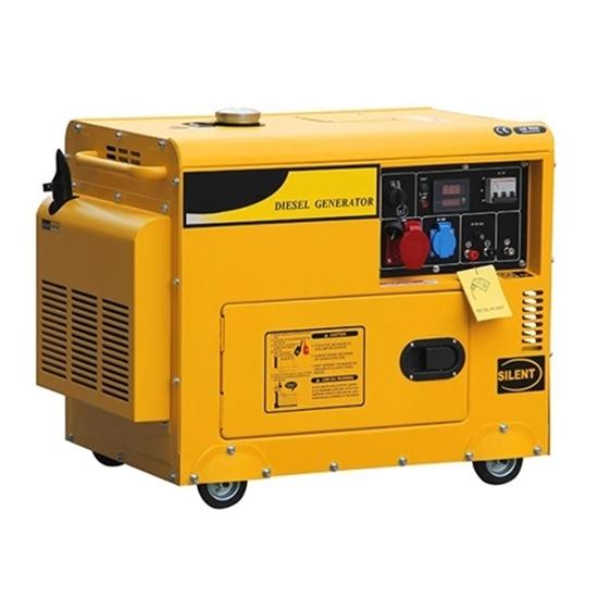 7kW (8.5kVA) Silent Diesel Generator, 1 Phase/3 Phase